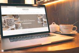 Abraxas Cookshop Websiet Design