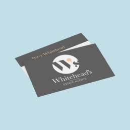 Whitehead's Estates Business Cards