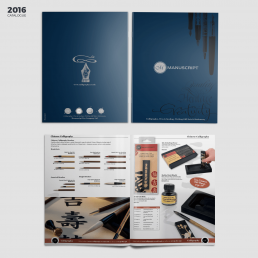 Manuscript Catalogue 2016 Version