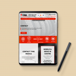 Tyre Medics Website