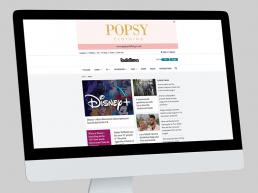 Popsy Clothing Display Advert