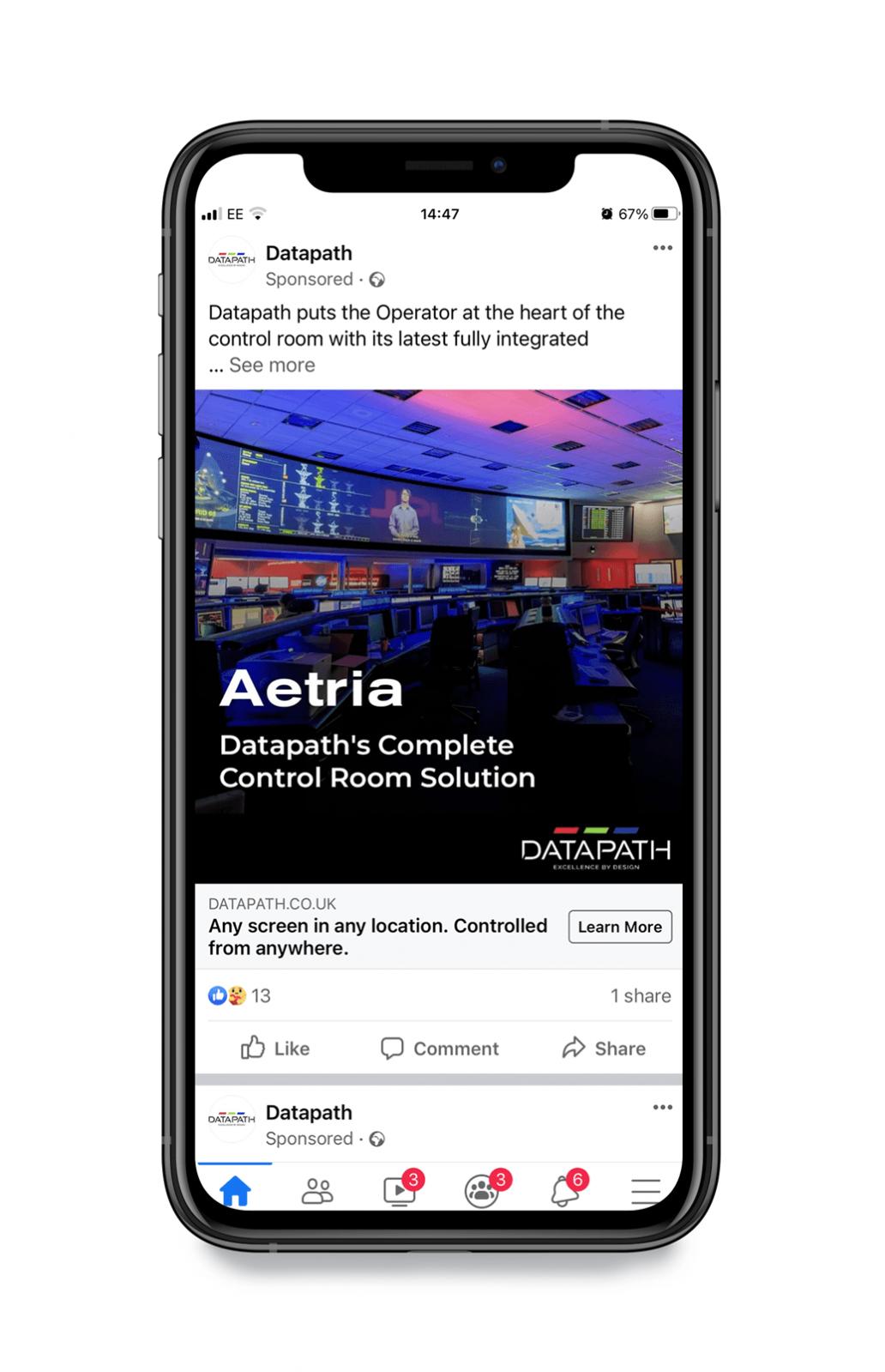 Datapath Facebook Focus