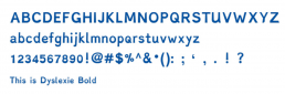Dyslexi Typeface